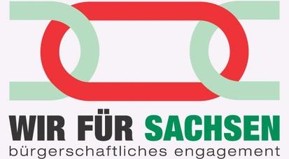 Logo Wir für Sachsen